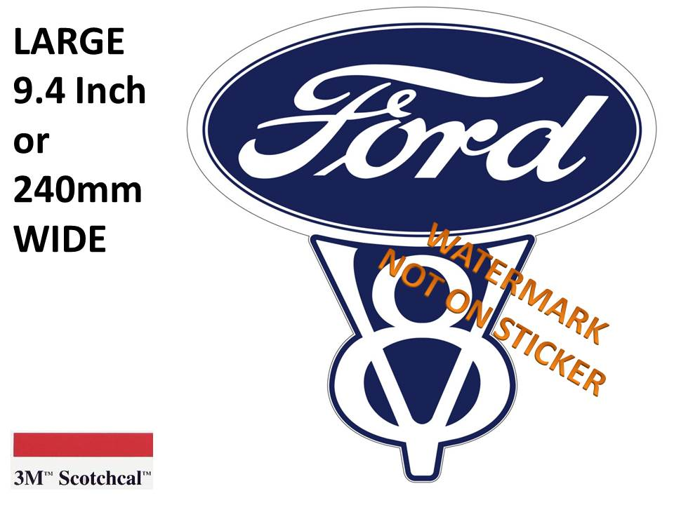 Ford V8 Sticker