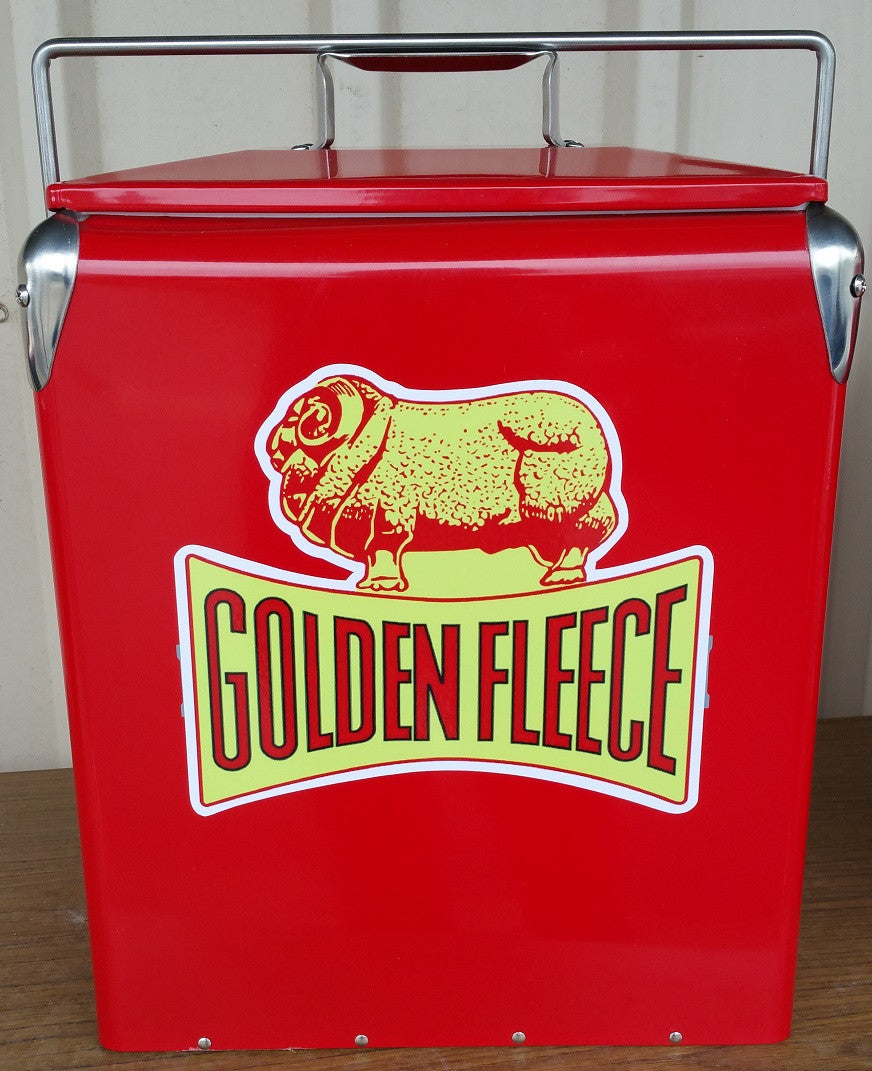 Retro Ice Cooler Golden Fleece