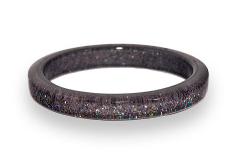 Gunmetal Glitter Bangle