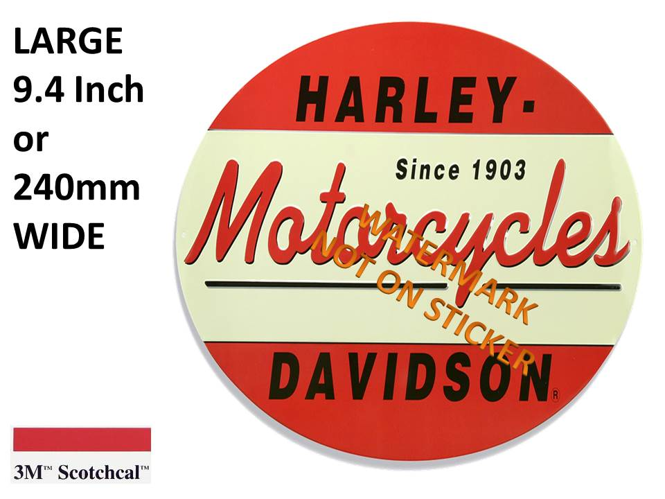 Harley Davidson Motorcycles Sticker