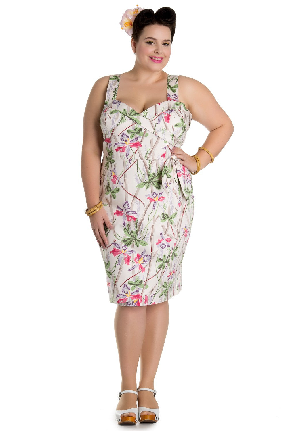 H B Bamboo Pencil Skirt Plus size