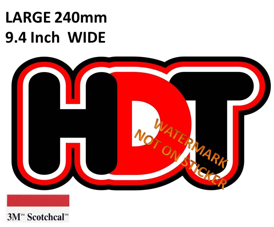 HTD Holden Sticker