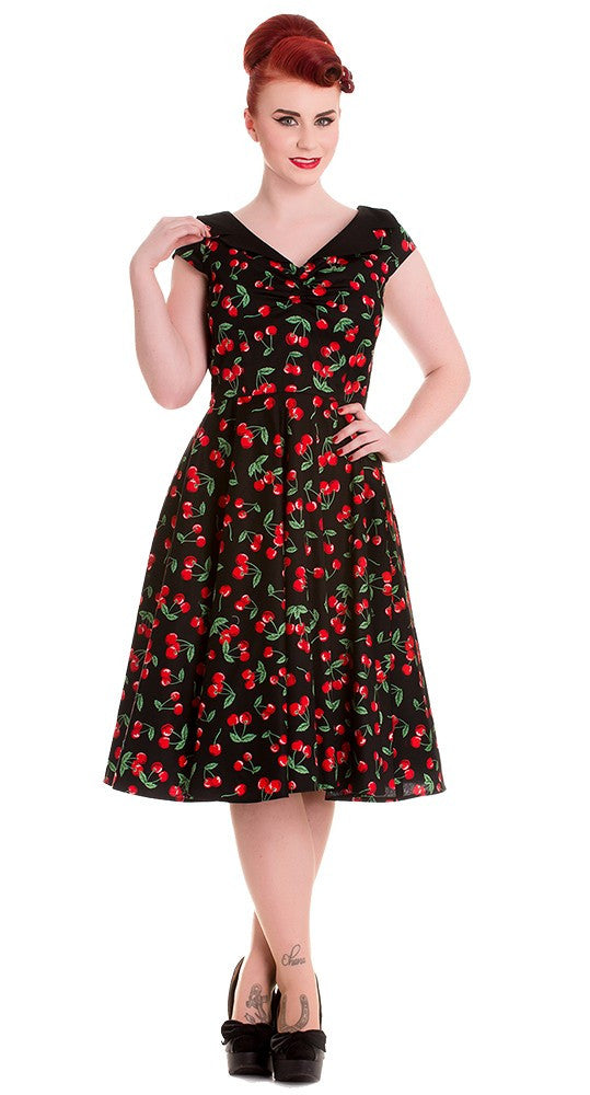 Hell Bunny Cherry Pop Dress