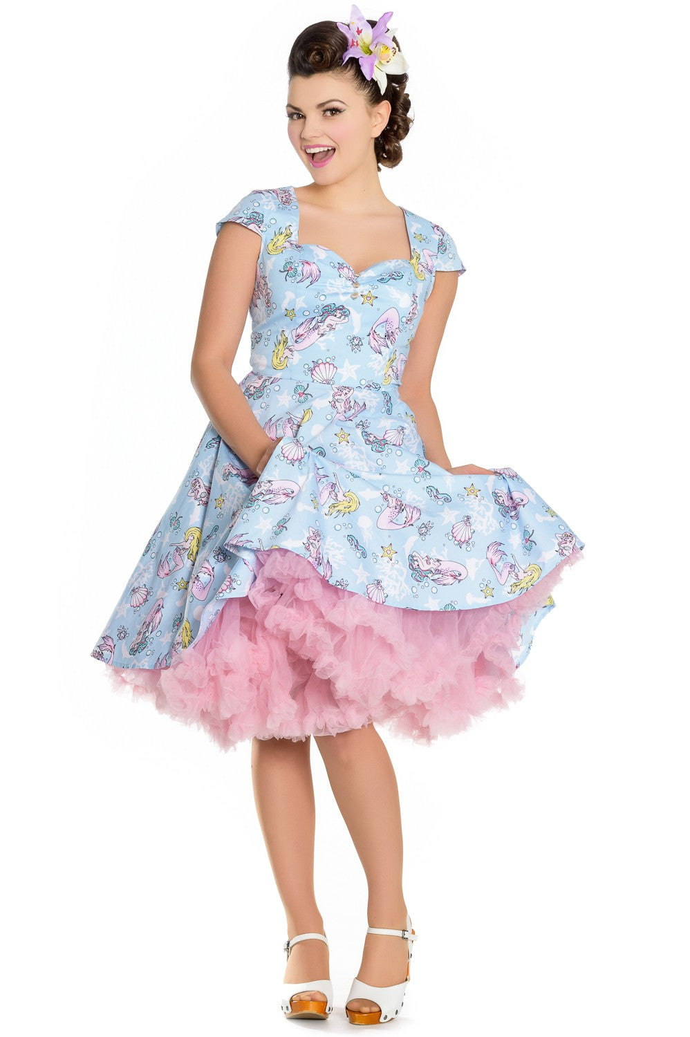 Hell Bunny Coralia Mermaid Dress