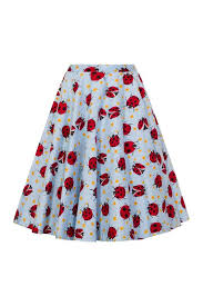 Lila Lady Bug Skirt