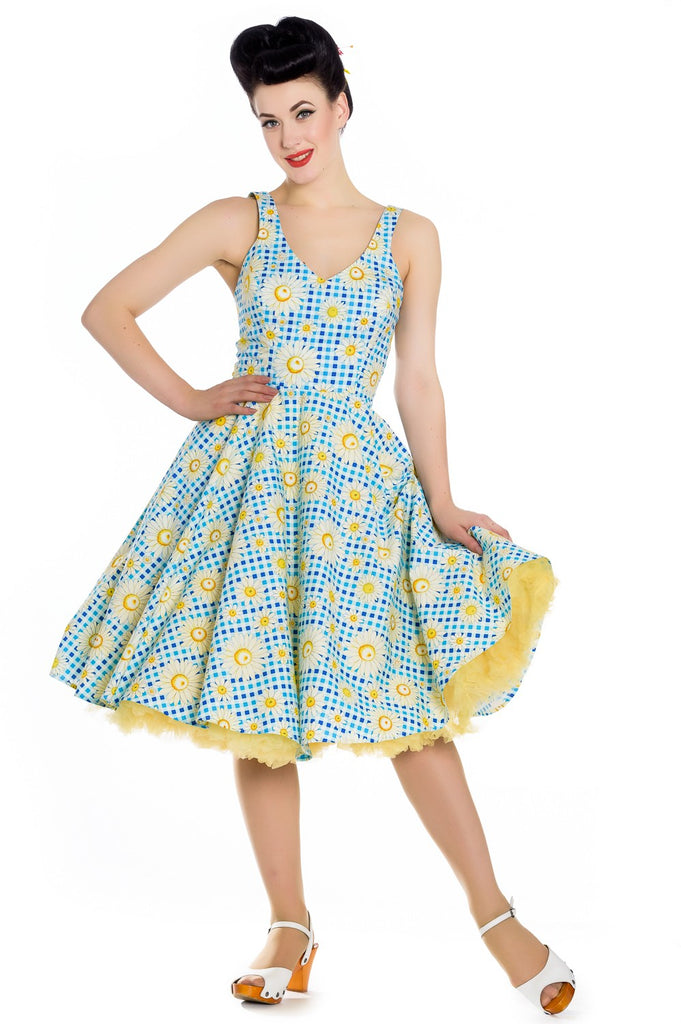 Hell Bunny Daisy Sunshine Dress