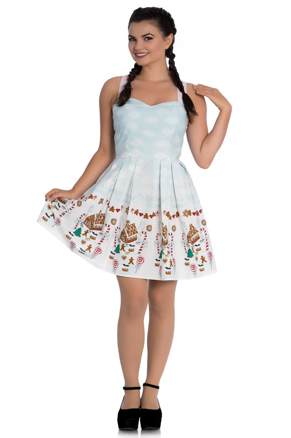 Hell Bunny candy Christmas Dress