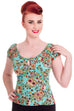 Sugar Skull Love Top