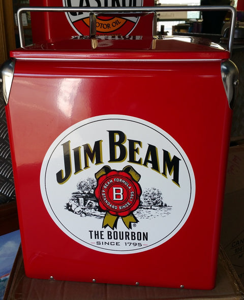 Retro Cooler Ice Jim Beam