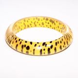 Leopard Print Bangle Regular