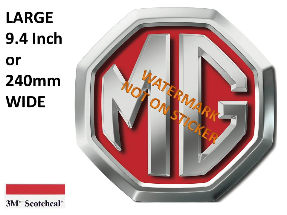 MG Logo Sticker