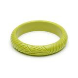 Midi Chartreuse Fakelite Bangle