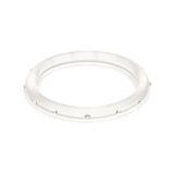 Narrow Clear Diamante Bangle
