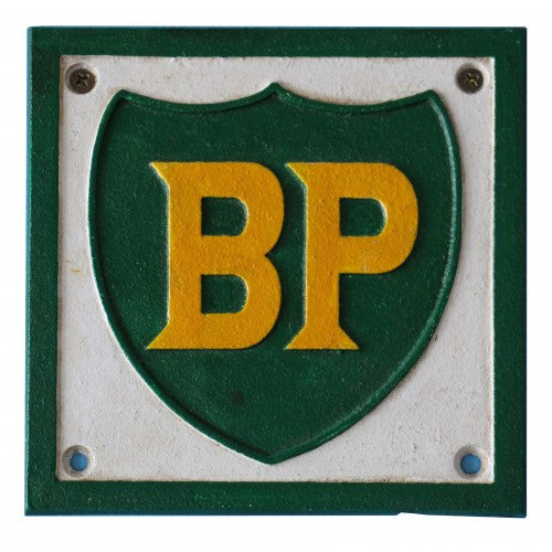 BP Sign Cast Iron 26 x 26