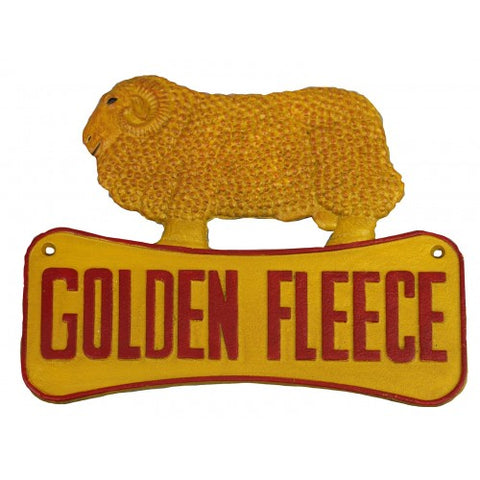 Golden Fleece Ram Sign Cast Iron