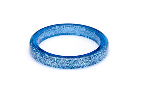 Powder Blue Glitter Bangle