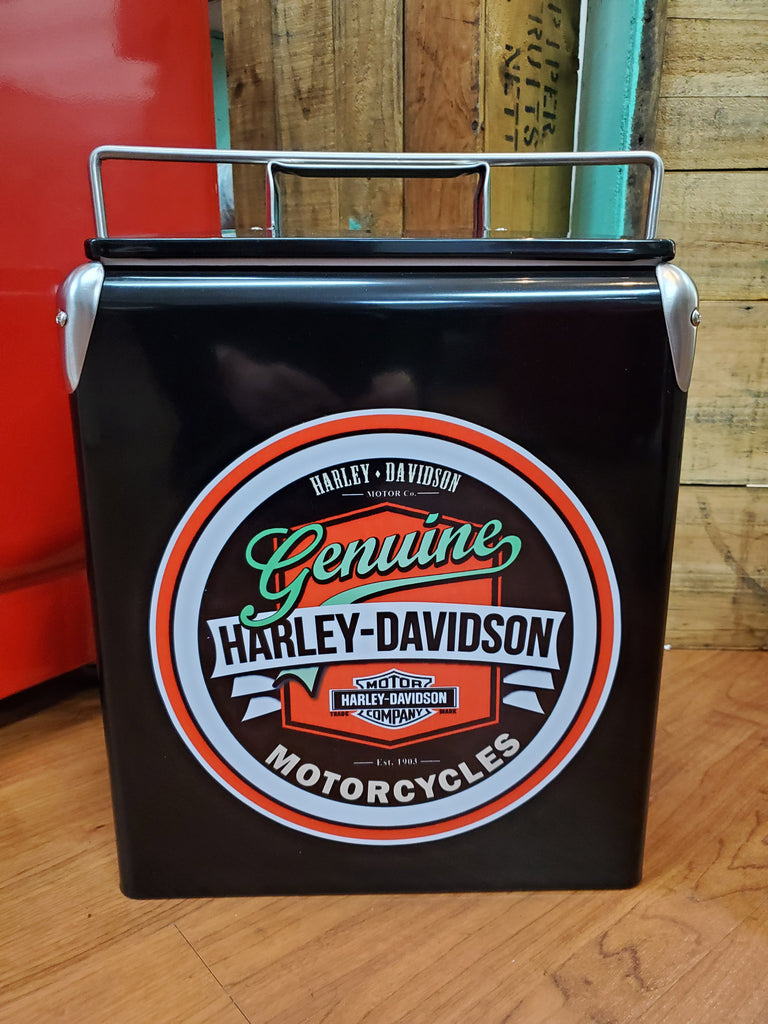 Harley Davidson Genuine  Retro Cooler Blk