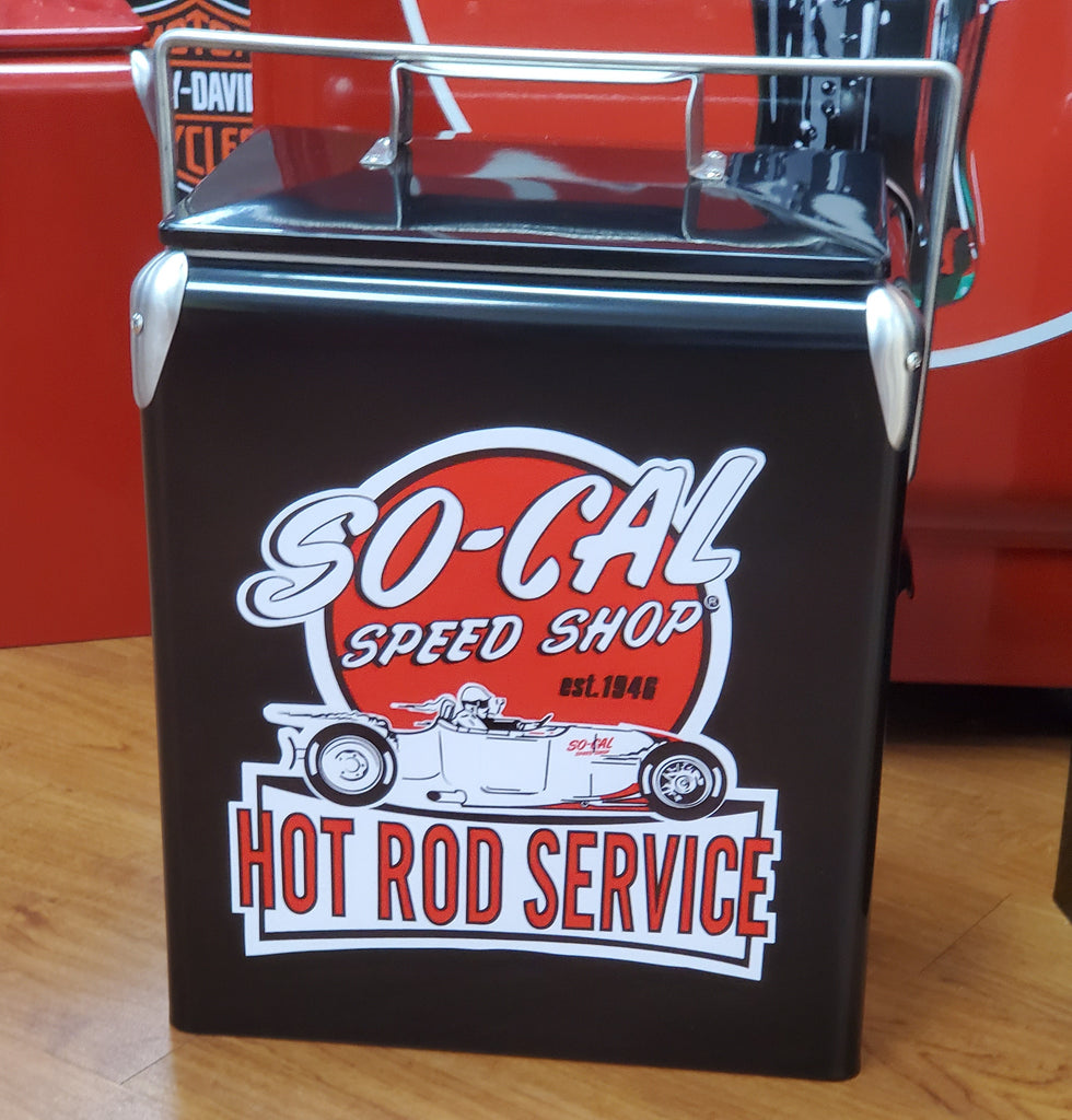 Retro Cooler So-Cal Speed Shop Blk