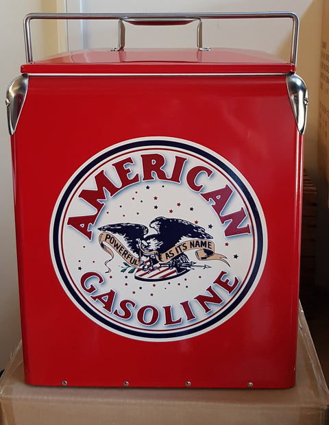 Retro Ice  Cooler American Gasoline