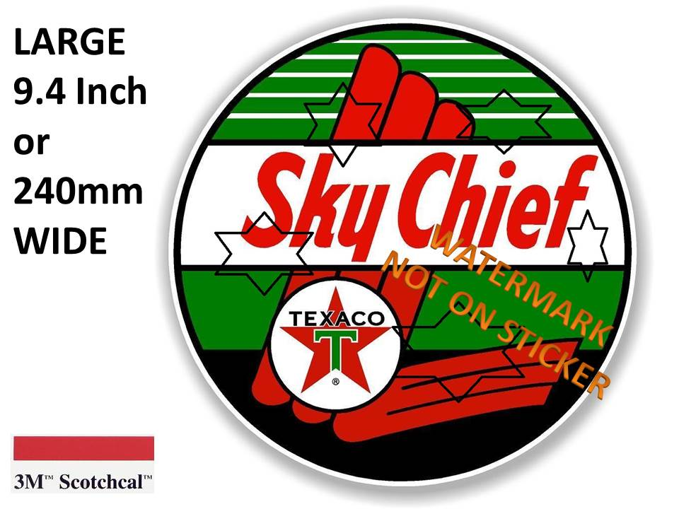 Sky Chief Texco Sticker