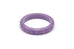 Midi Amethyst Fakelite Bangle Duchess