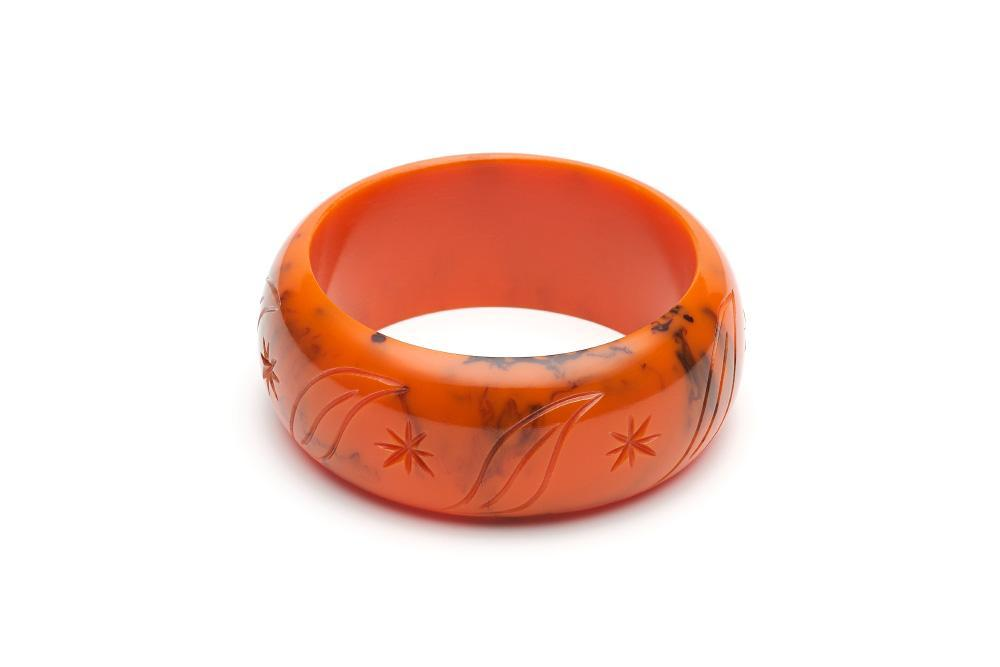 Wide Fox Fakelite Bangle Regular