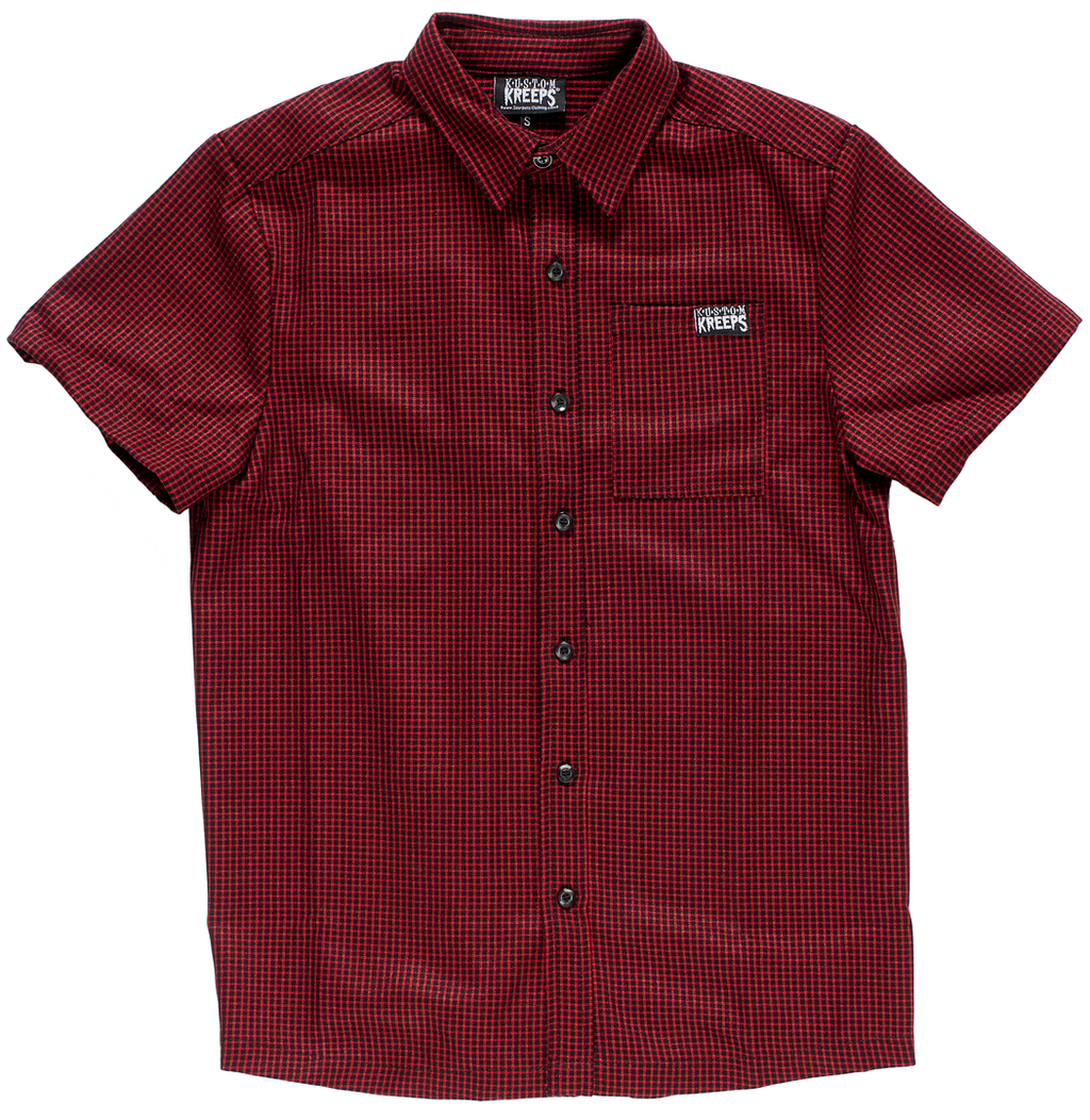 KUSTOM KREEPS CHECK BUTTON DOWN