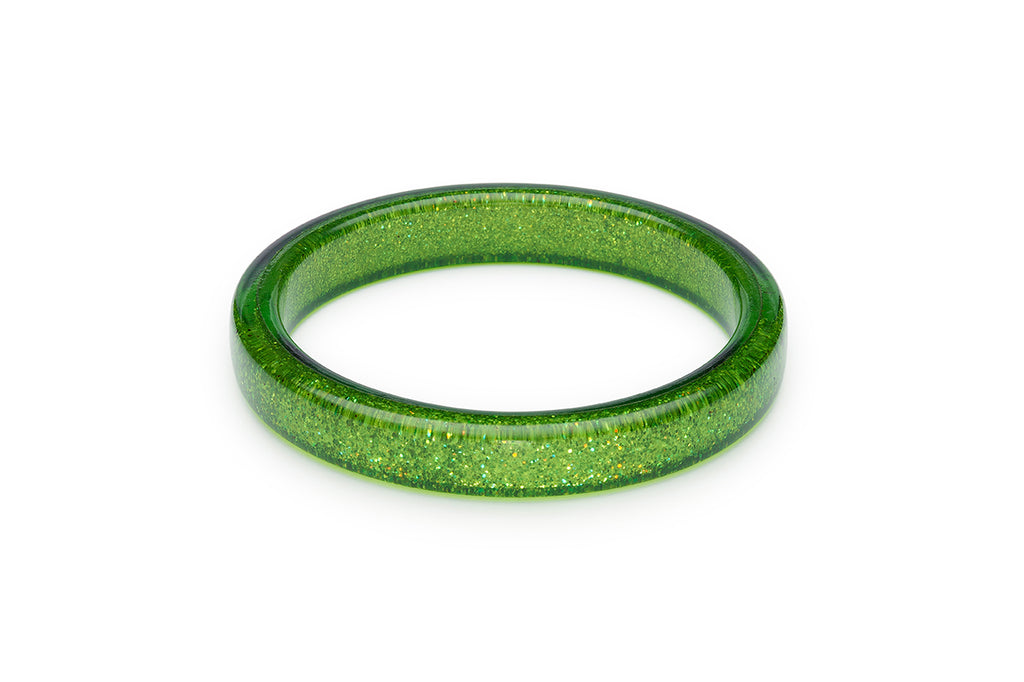Leaf Green Glitter Duchess Bangle