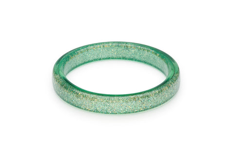 Minty Green Glitter Duchess Bangle