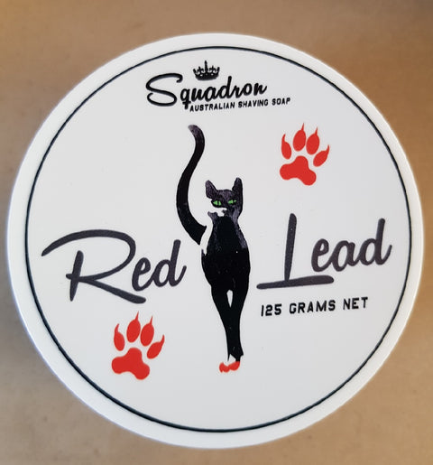 Squadron Group Red Lead Shave Soap