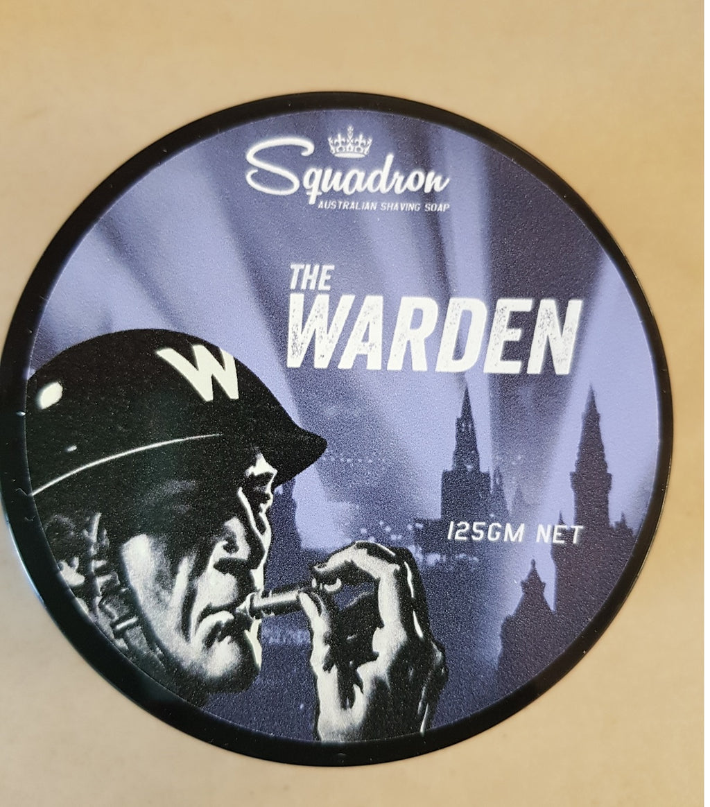 Squadron The Warden Shave Soap