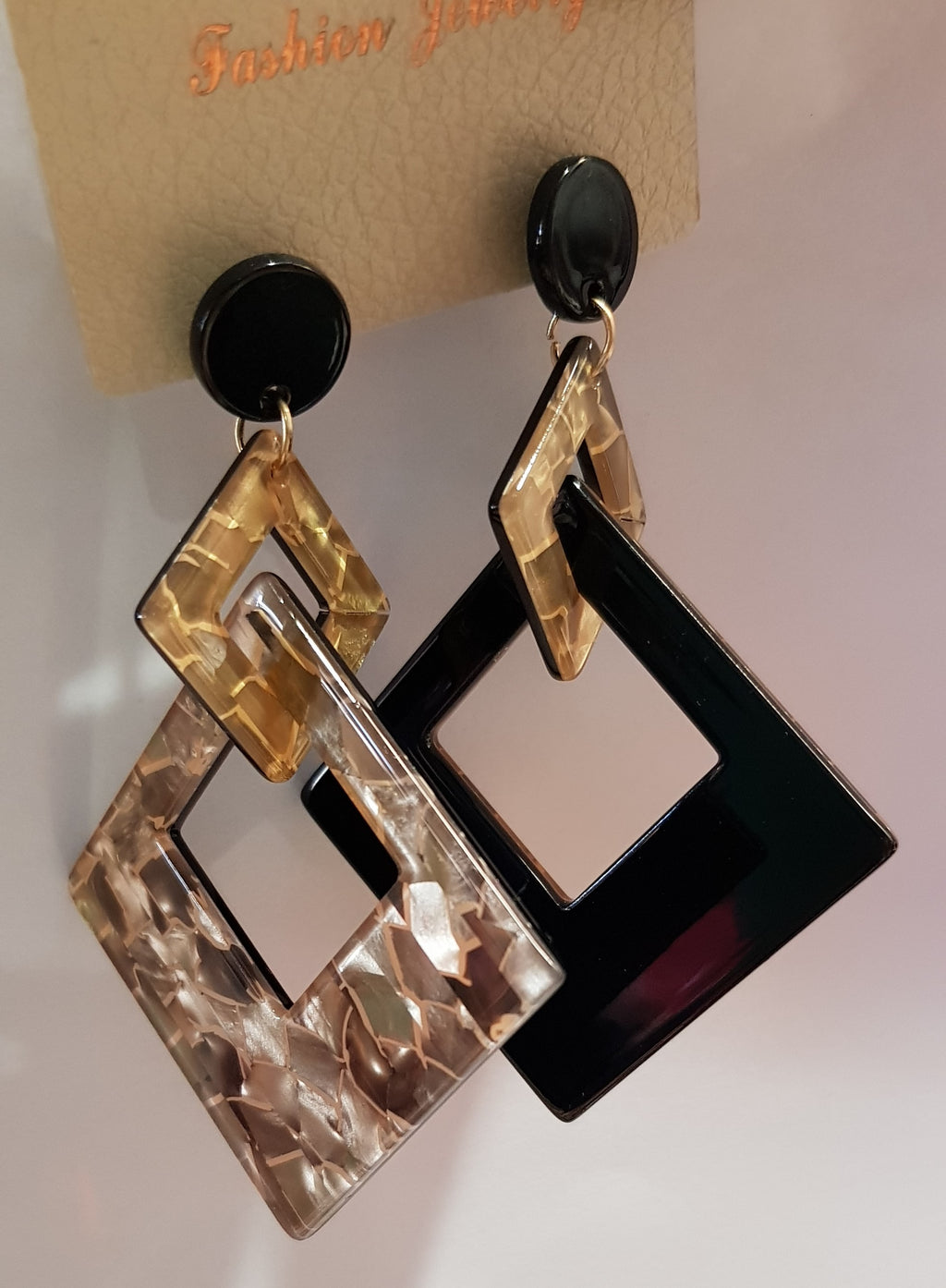 Square double sided Earing's