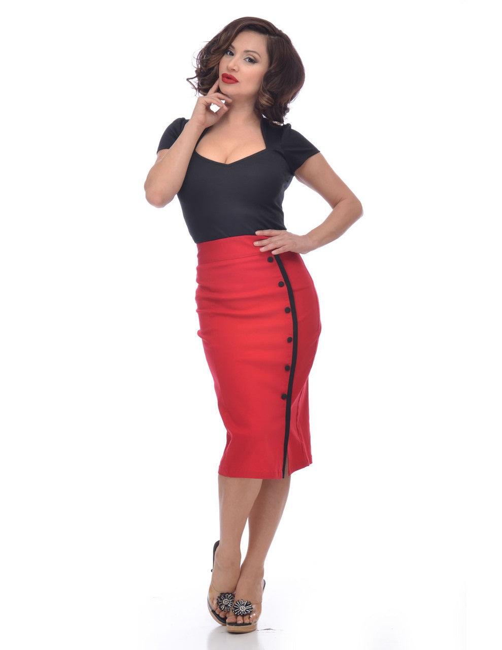 Steady Sarina Pencil Skirt