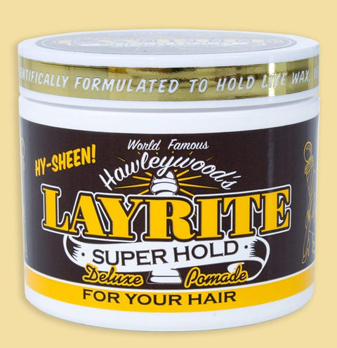 Layrite Superhold Hair Pomade 4oz / 113 gms