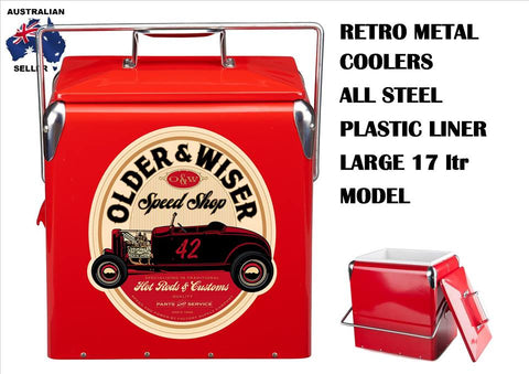 Retro Cooler Wiser Older