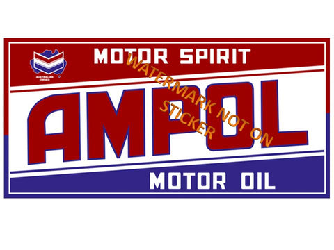 Ampol Rectangular Sticker