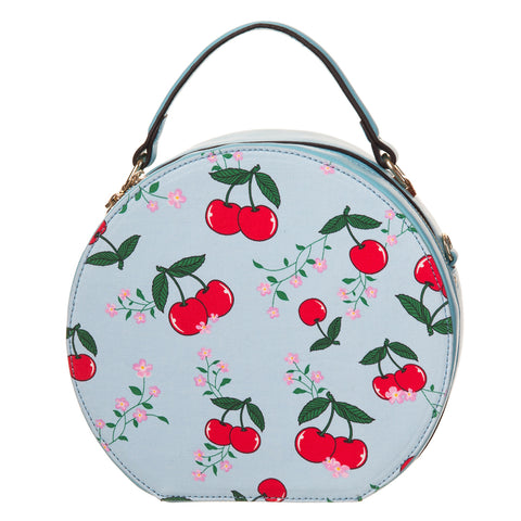 Blue  or red Cherry Bag