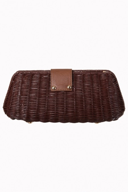 Lizzie Clutch Bag Wicker