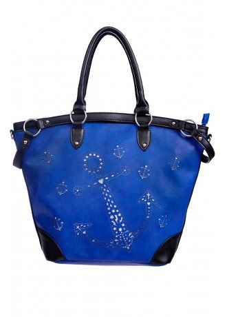 Blue Anchor Bag