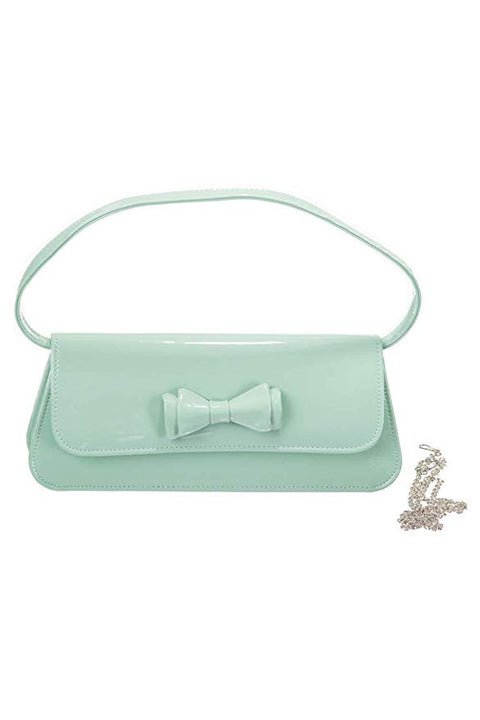 Mint Green Clutch