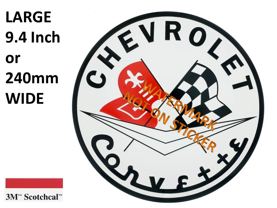 Chevrolet Corvette Sticker