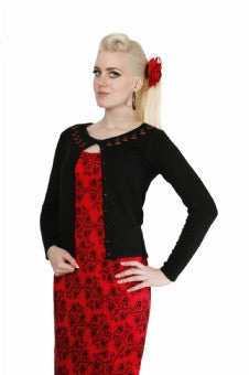 Collectif Tiny Cherries Cardigan