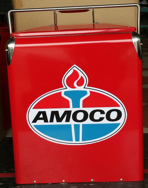 Retro Ice Cooler Amoco