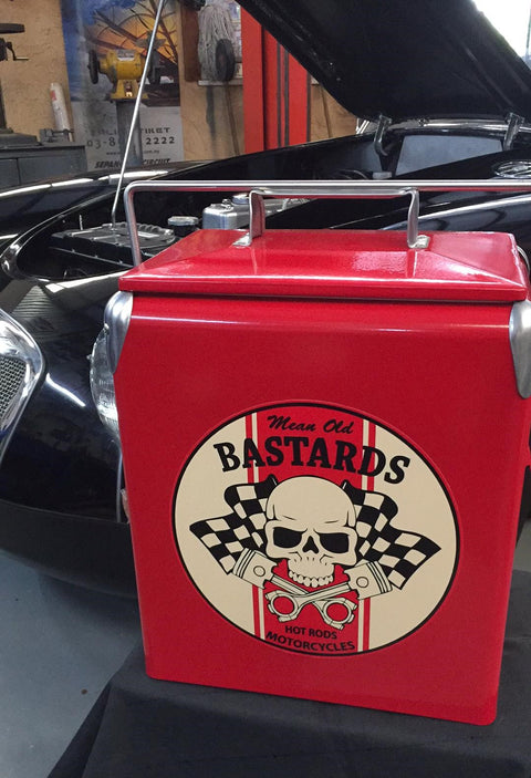 Mean Old Bastards Retro Cooler