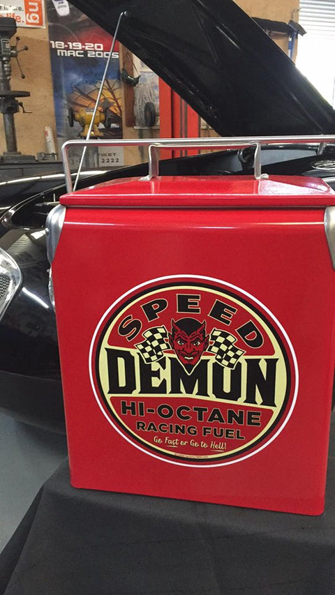Speed Demon Retro Cooler