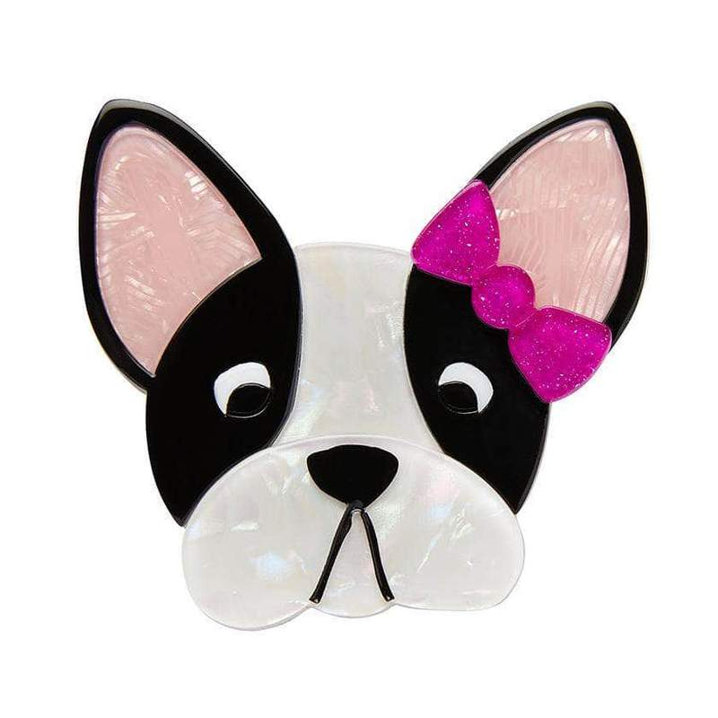 Felicia The Frenchie Brooch
