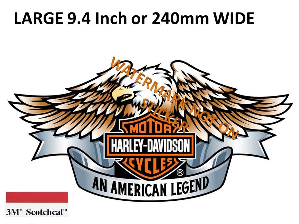 Harley Eagle Sticker