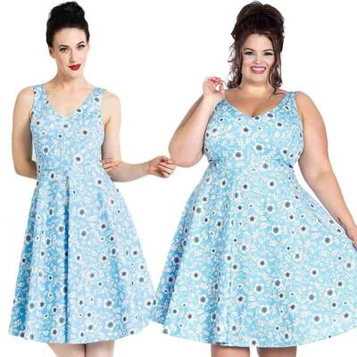 H B  DAPHNE 50'S DRESS XS--4XL