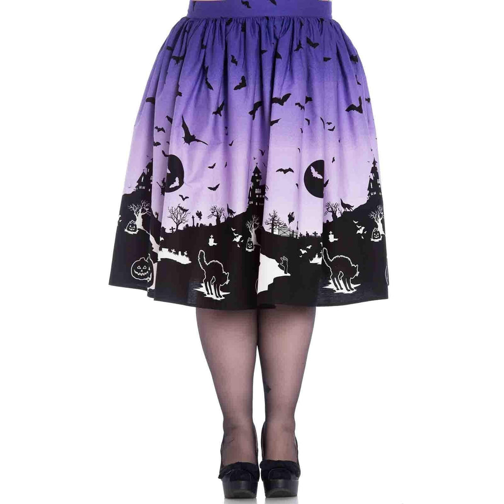 Hell Bunny Haunted Skirt