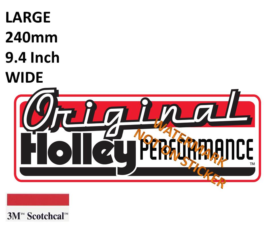 Original Holley Preformance Sticker